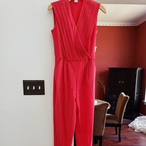 red Venus jumpsuit